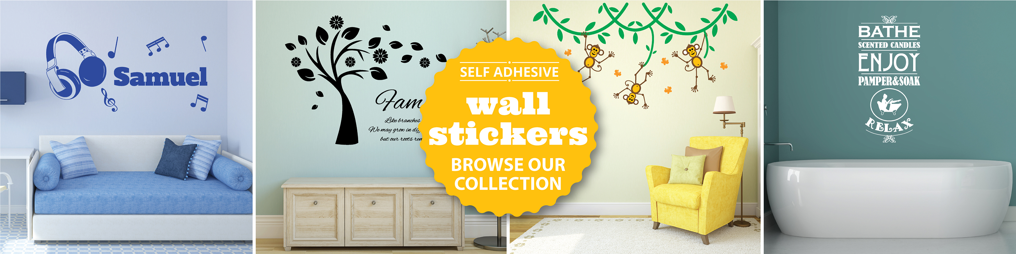 Wall Genie | Tile Stickers • Wall Stickers